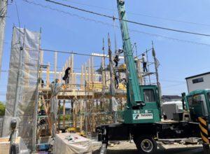 Y様邸 上棟|石川県金沢市の注文住宅・デザイン性・新築の家・戸建て|E-HOUSE