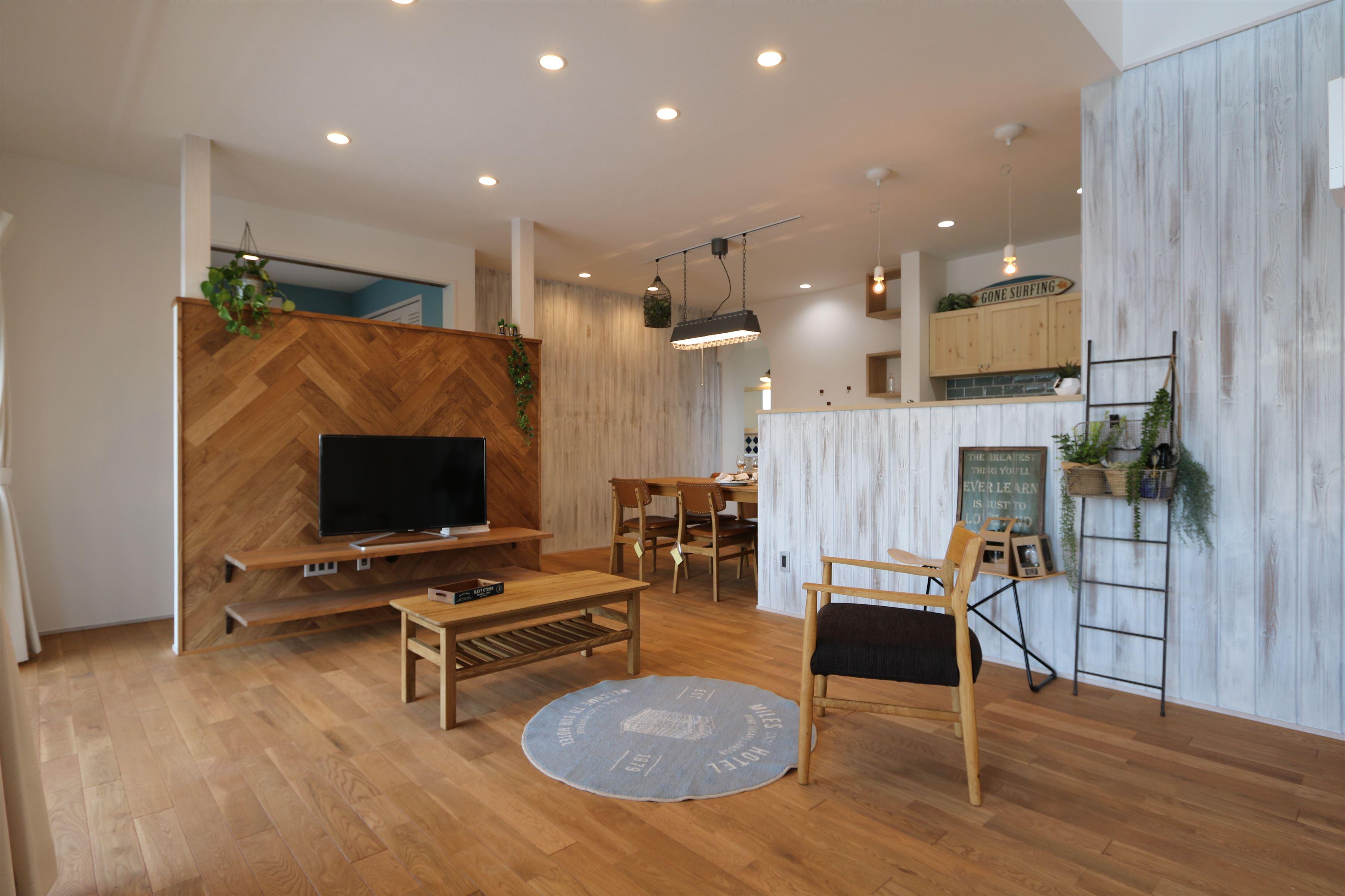 施工事例過去|のんびりと過ごすアメリカンスタイル|石川県金沢市の注文住宅・デザイン性・新築の家・戸建て|E-HOUSE