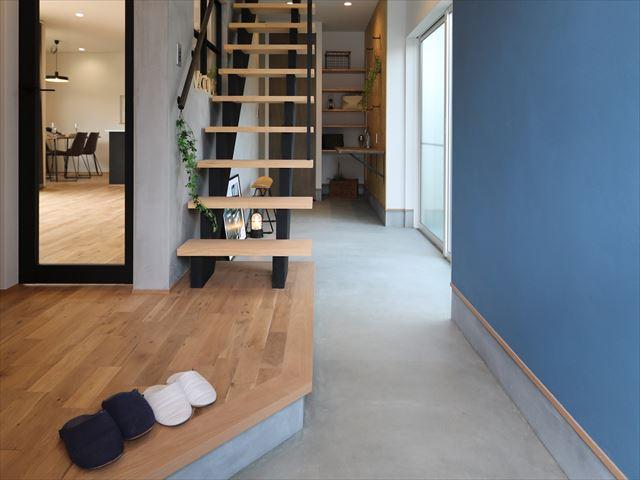 土間で叶える趣味の時間 石川県金沢市の注文住宅・デザイン性・新築の家・戸建て E-HOUSE