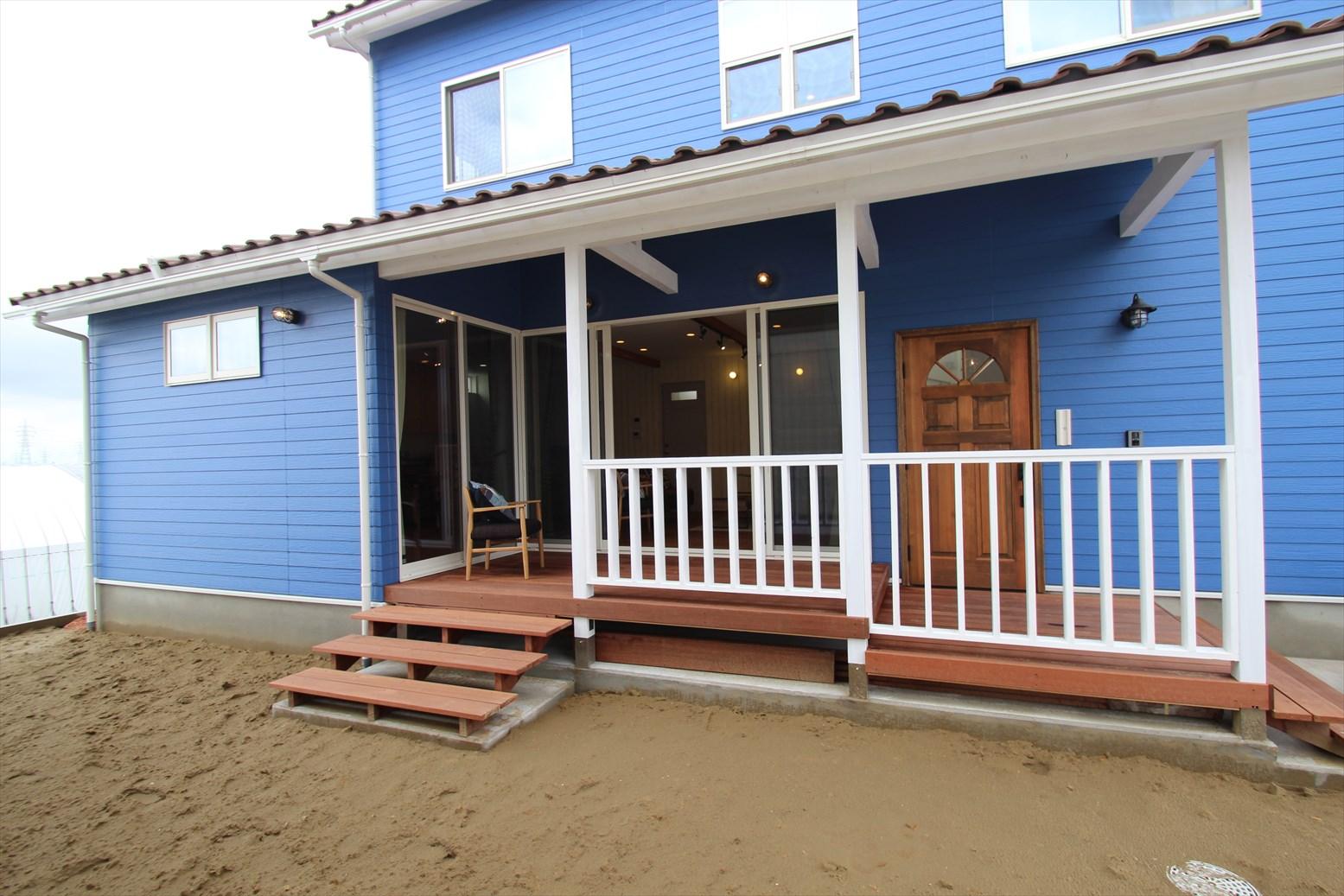 カリフォルニアスタイル1|石川県金沢市の注文住宅・デザイン性・新築の家・戸建て|E-HOUSE