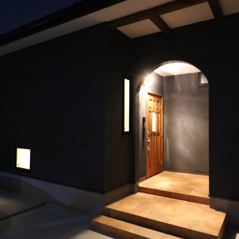バルスタイルの家