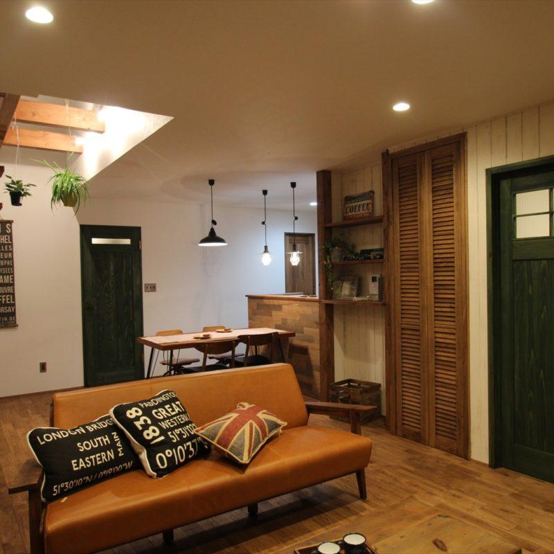 趣味を楽しむヴィンテージスタイルの家