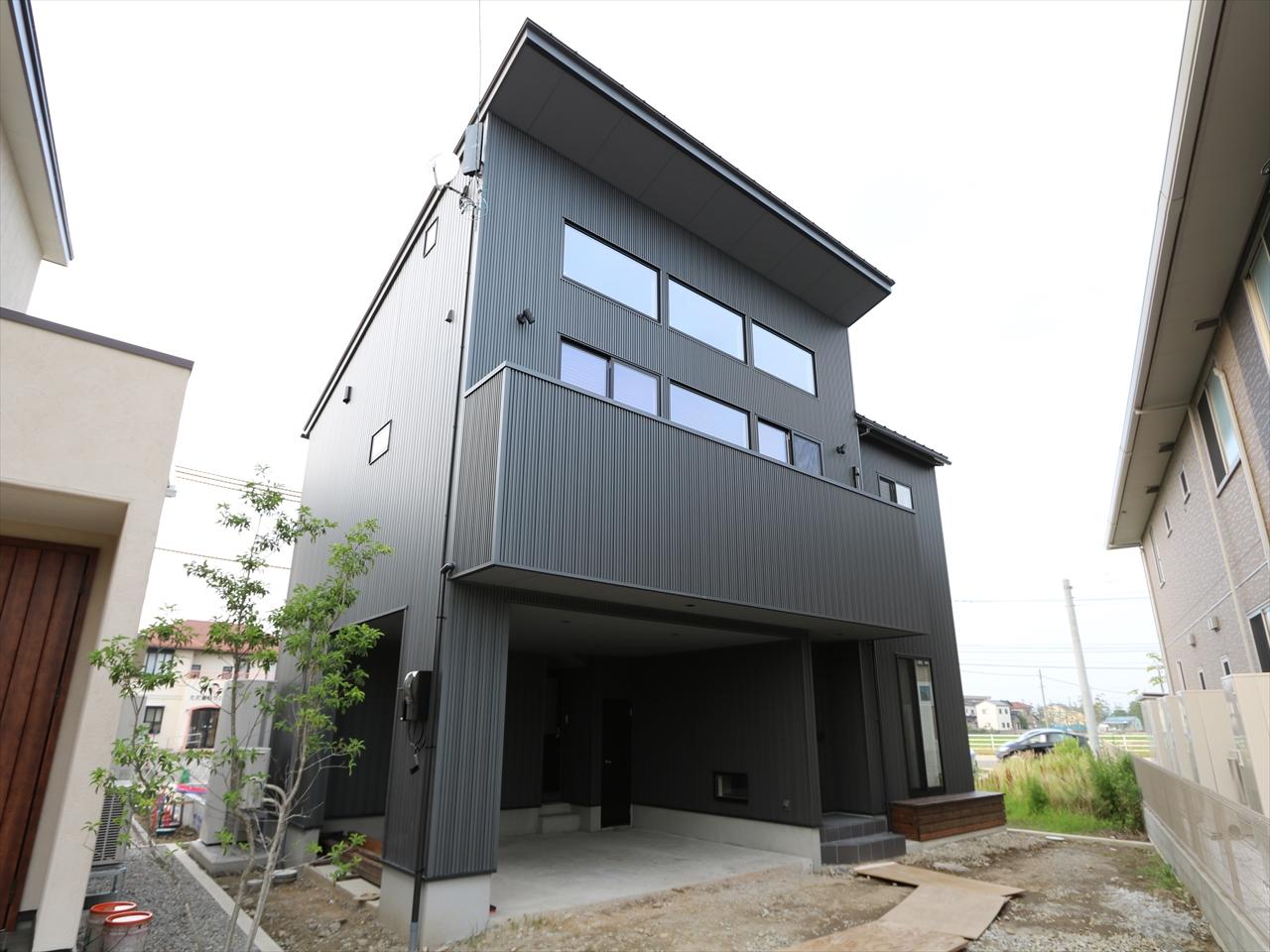 ハイサイドライトから光射す家|石川県金沢市の注文住宅・デザイン性・新築の家・戸建て|E-HOUSE
