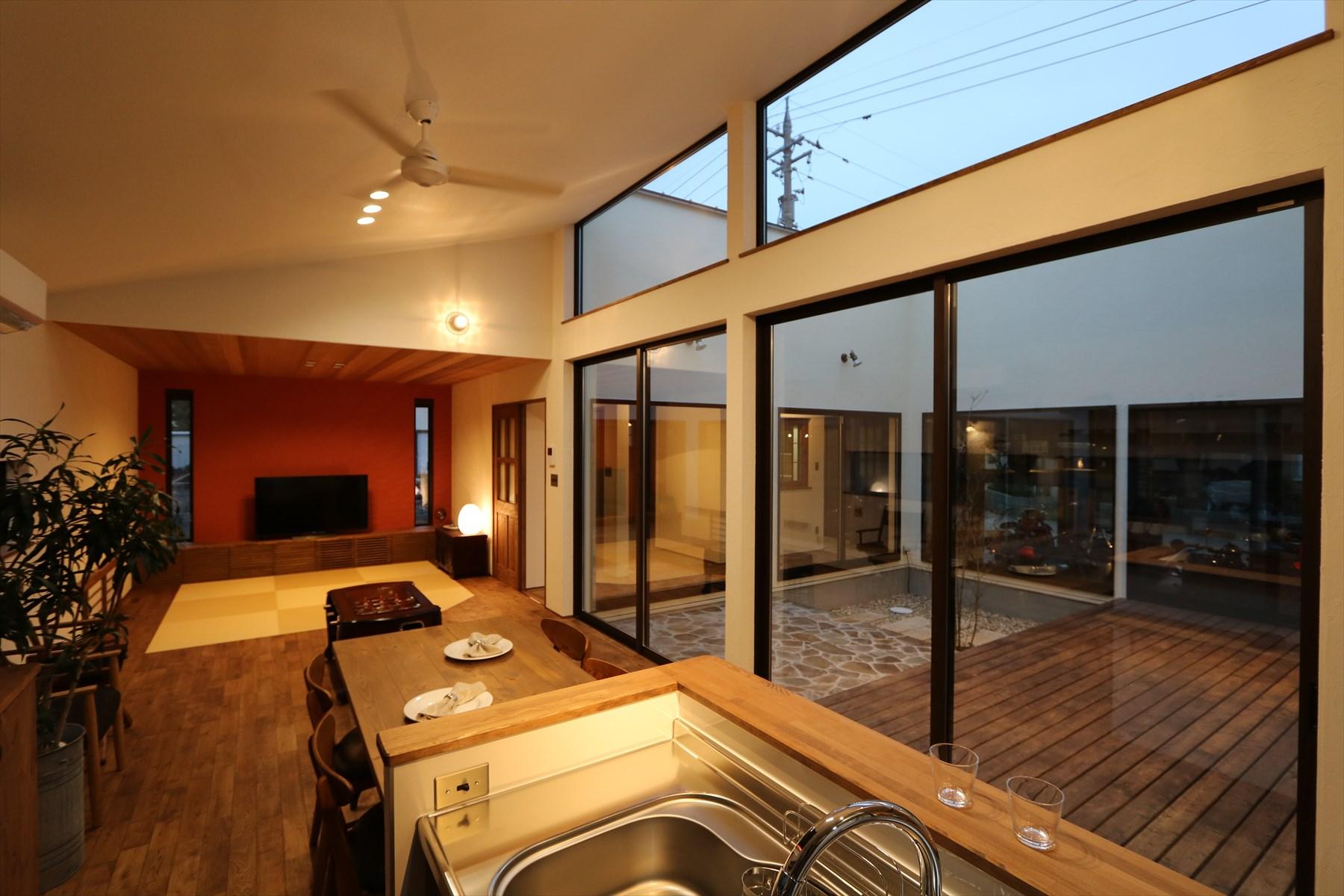 好きな物と暮らす、ロの字型の家|石川県金沢市の注文住宅・デザイン性・新築の家・戸建て|E-HOUSE