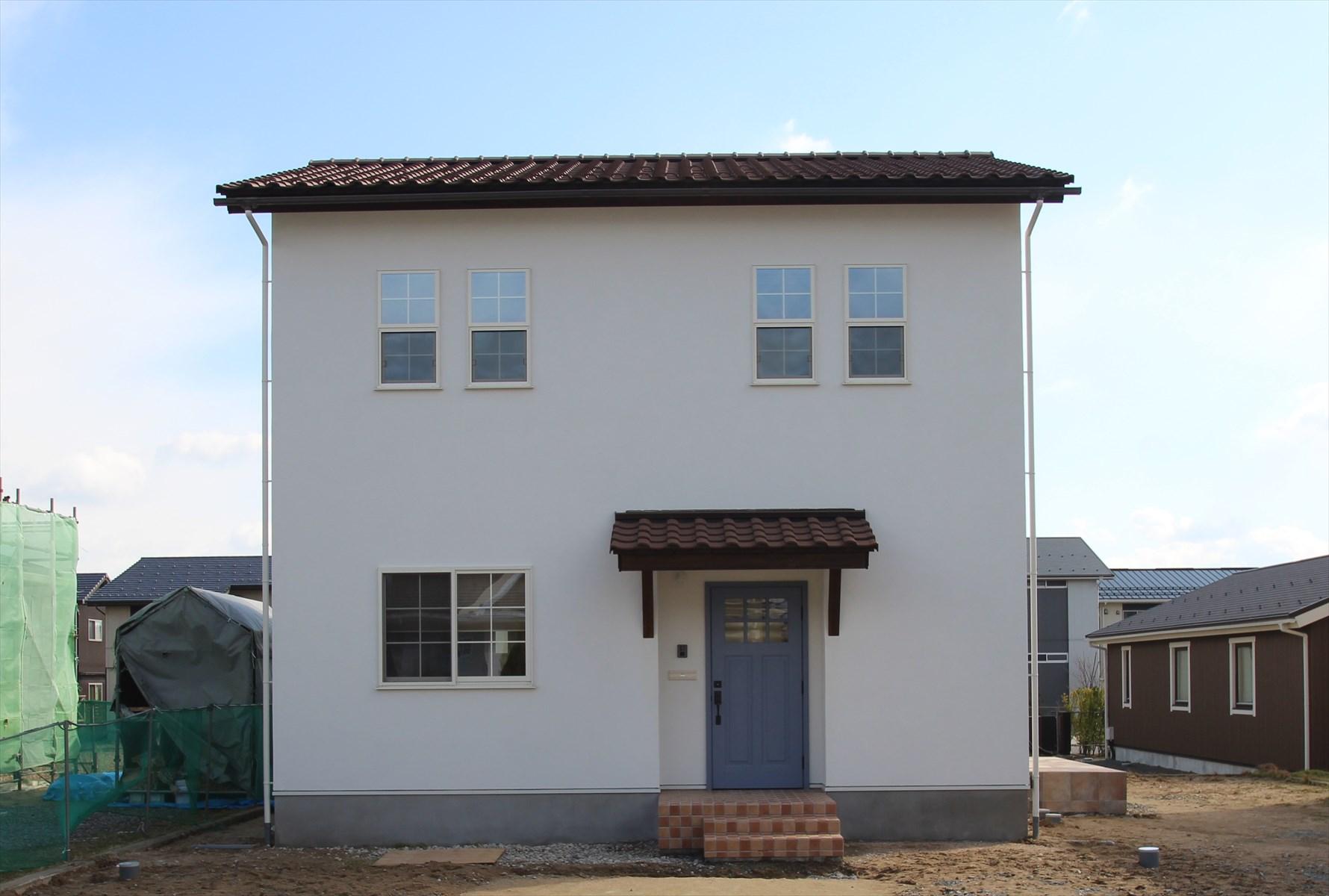 フレンチスタイルの家