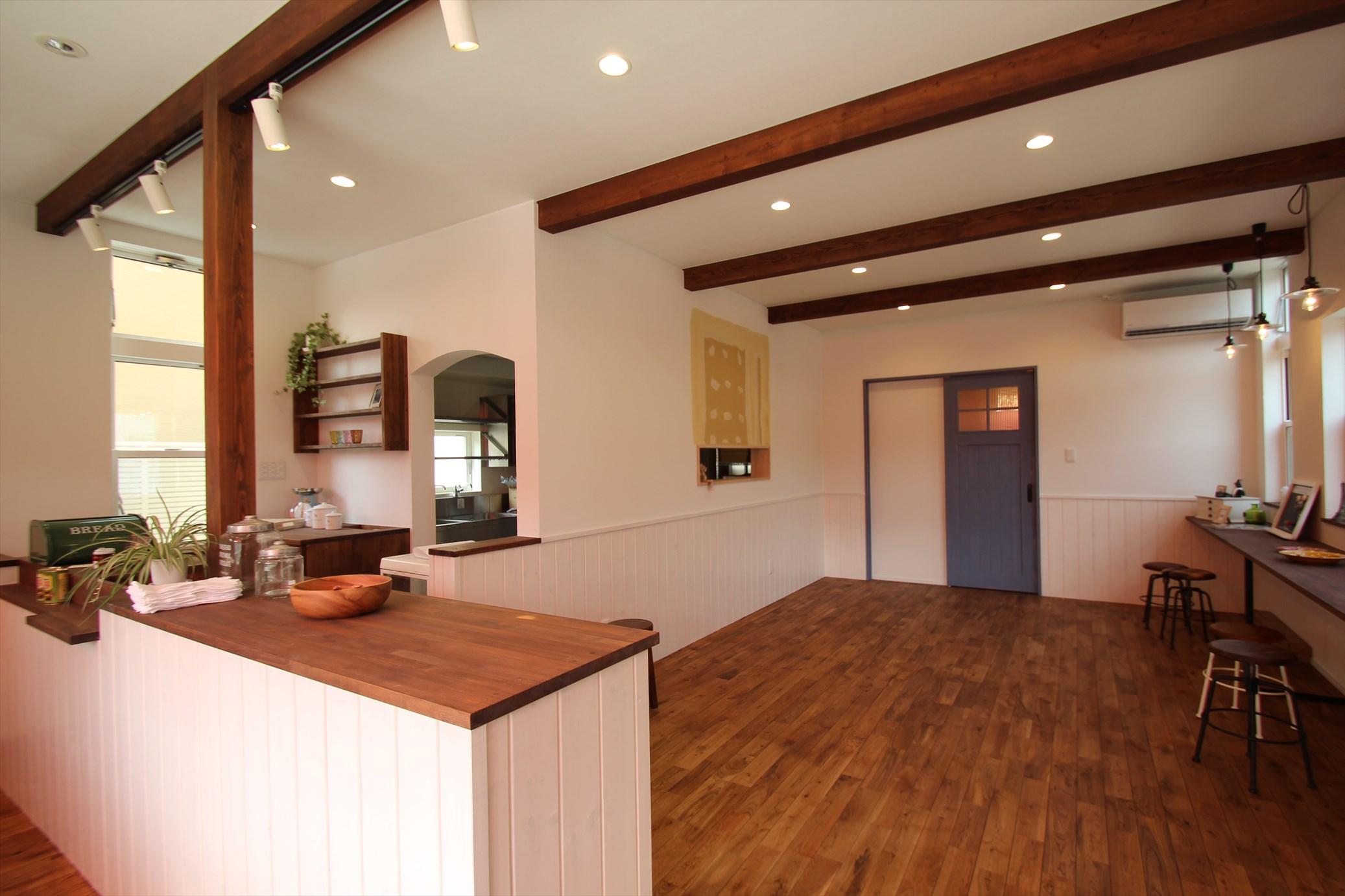 ヨーロピアンなかわいいカフェのある家|石川県金沢市の注文住宅・デザイン性・新築の家・戸建て|E-HOUSE