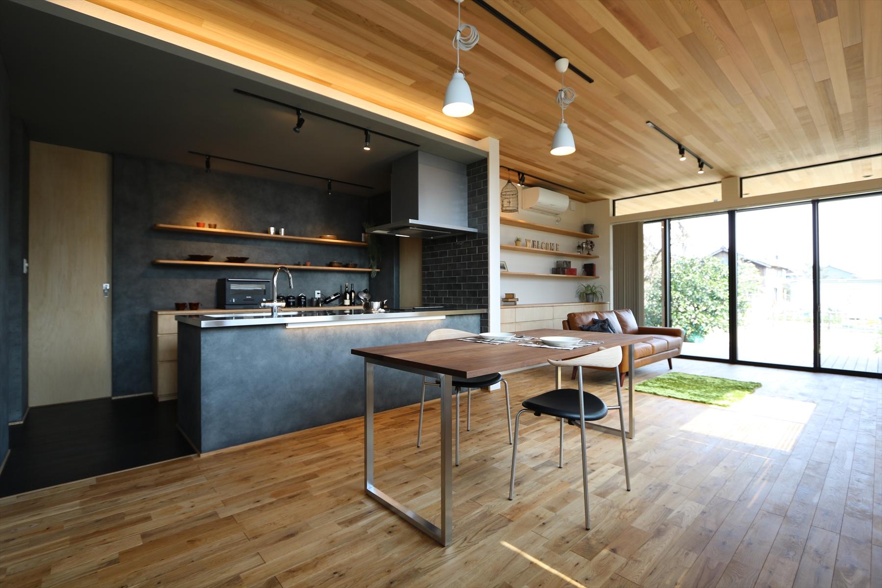 NATURAL× HIGH MODERN×平屋|石川県金沢市の注文住宅・デザイン性・新築の家・戸建て|E-HOUSE