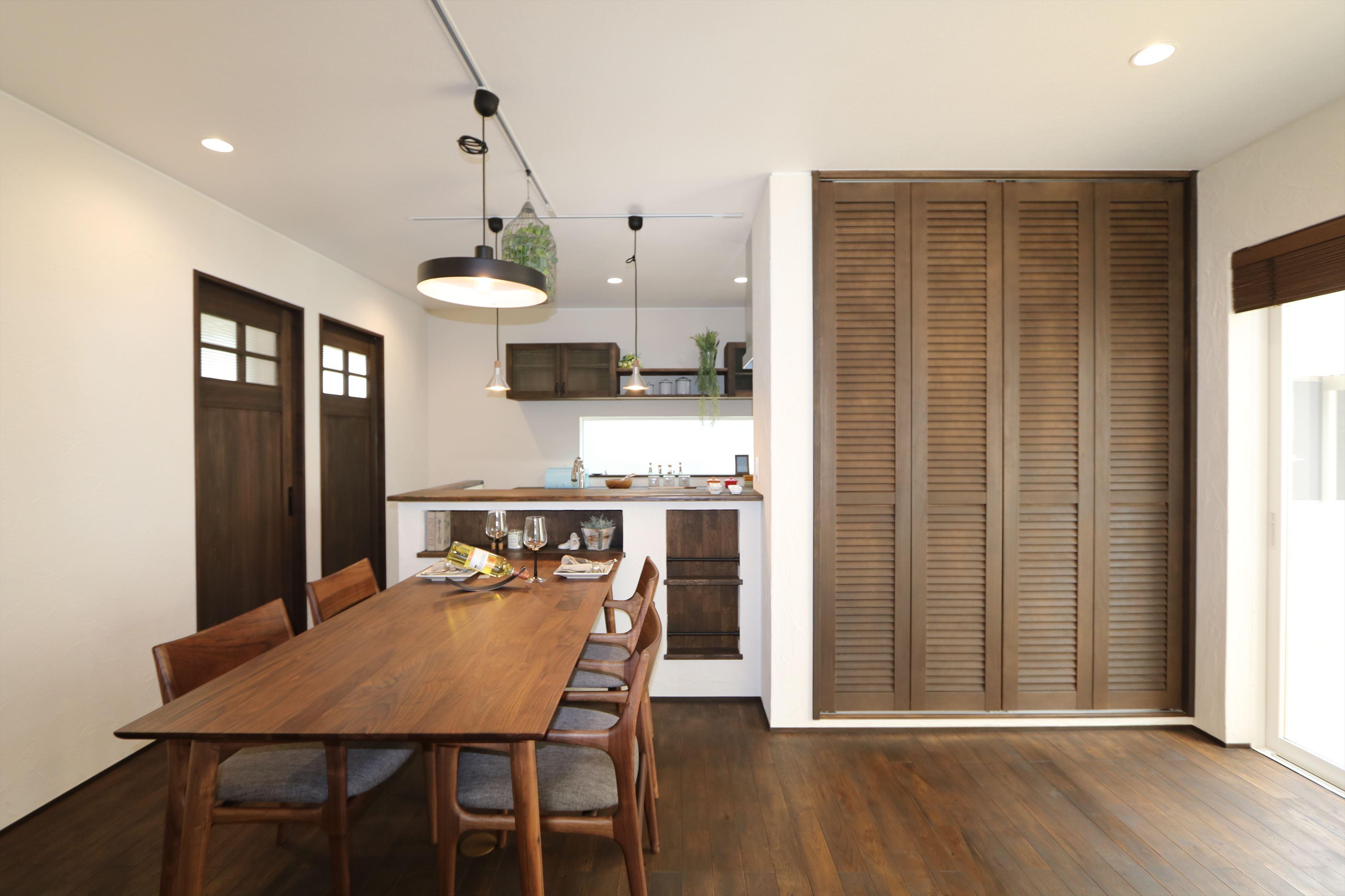 施工事例過去|大人シックなフレンチスタイルの家|石川県金沢市の注文住宅・デザイン性・新築の家・戸建て|E-HOUSE