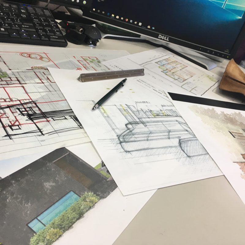 プレゼン準備中!!|石川県金沢市の注文住宅・デザイン性・新築の家・戸建て|E-HOUSE