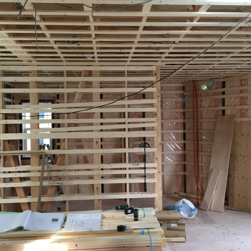 四十万 H様邸 ~現場状況報告~|石川県金沢市の注文住宅・デザイン性・新築の家・戸建て|E-HOUSE
