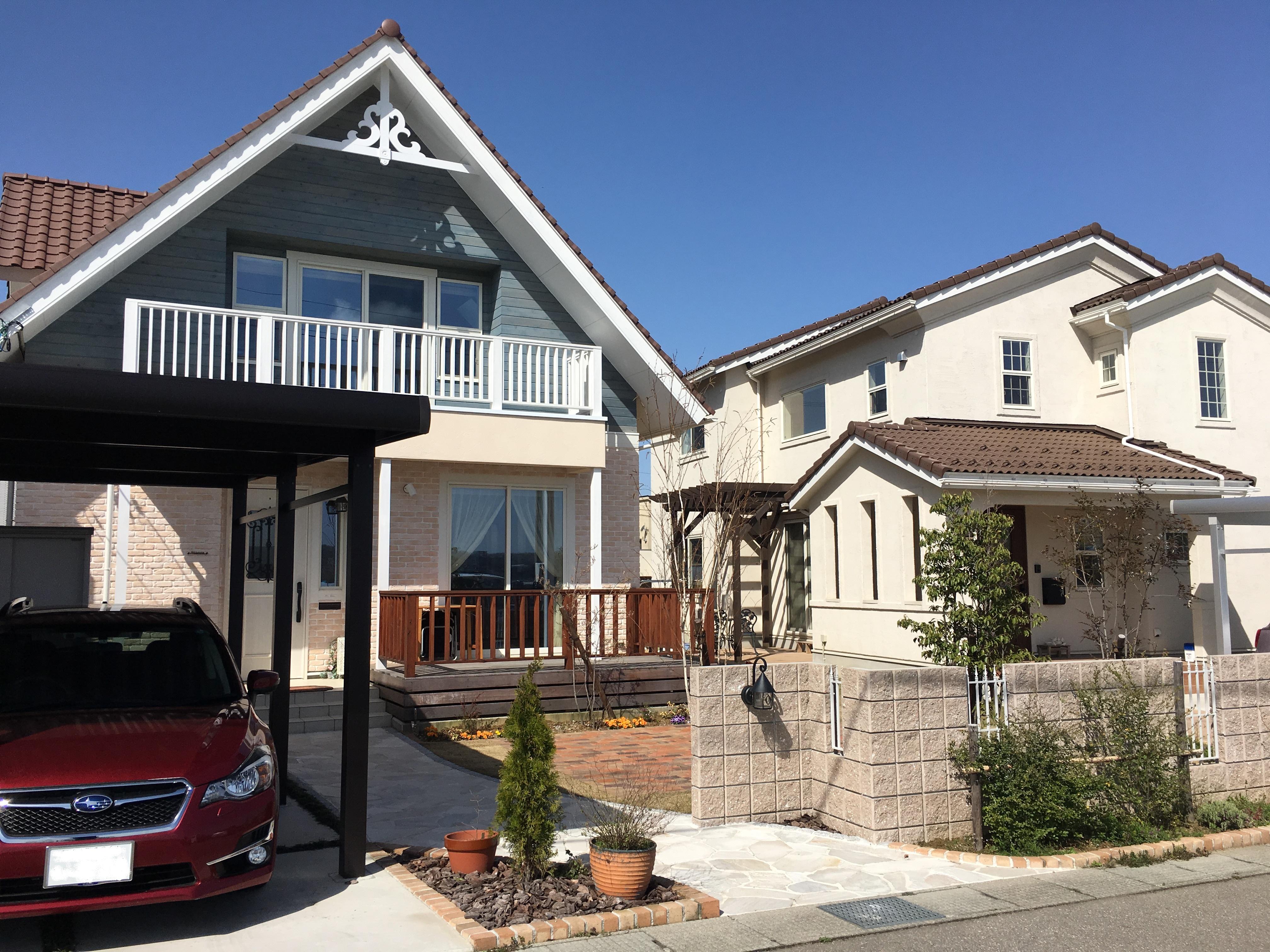 施工事例過去|プライベート中庭が広がる家|石川県金沢市の注文住宅・デザイン性・新築の家・戸建て|E-HOUSE