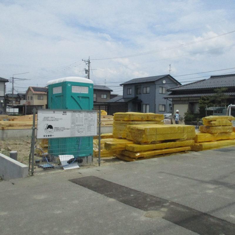 上棟への準備|石川県金沢市の注文住宅・デザイン性・新築の家・戸建て|E-HOUSE