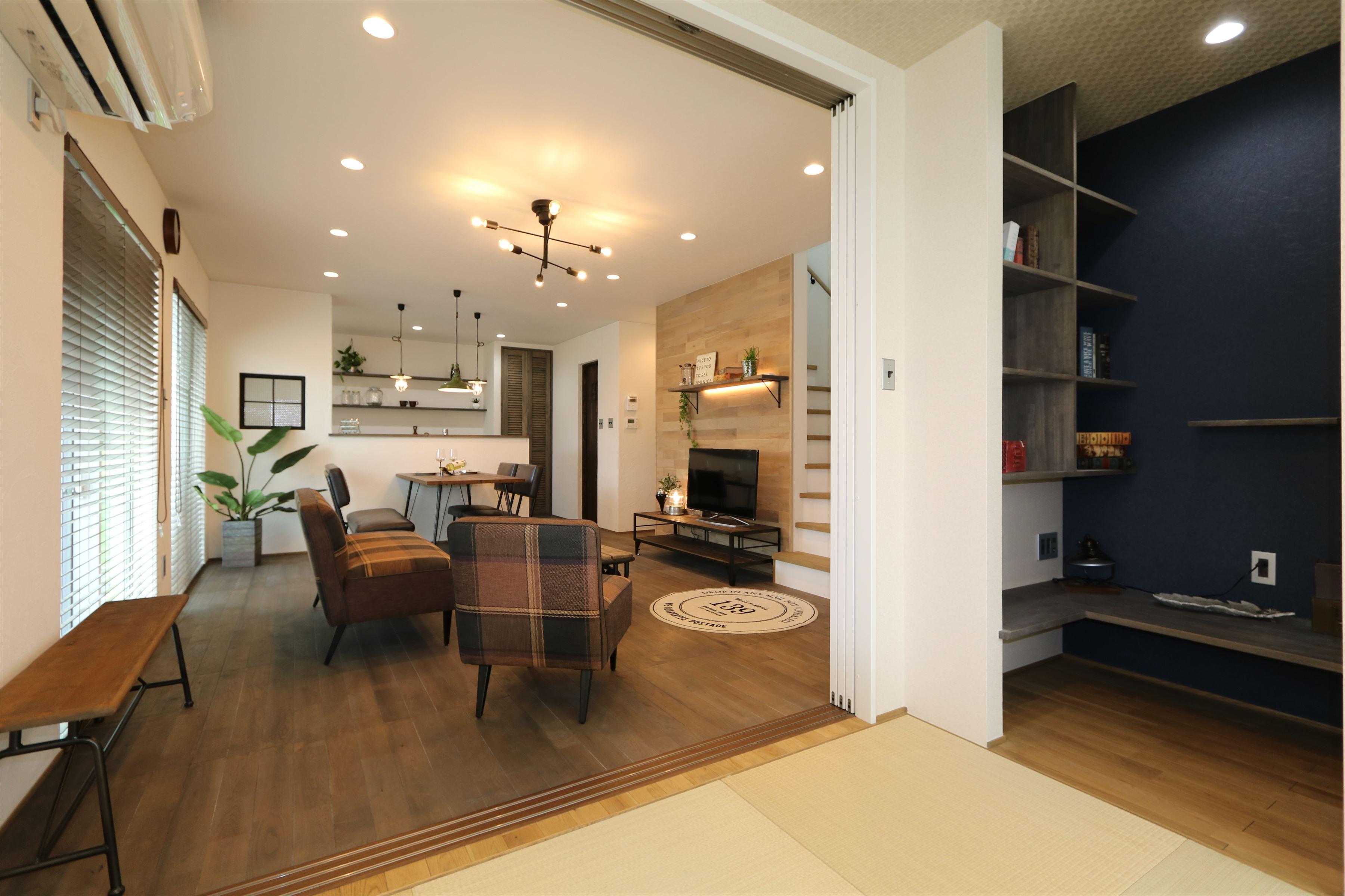 カジュアルでかっこいい今どきスタイルのお家|石川県金沢市の注文住宅・デザイン性・新築の家・戸建て|E-HOUSE