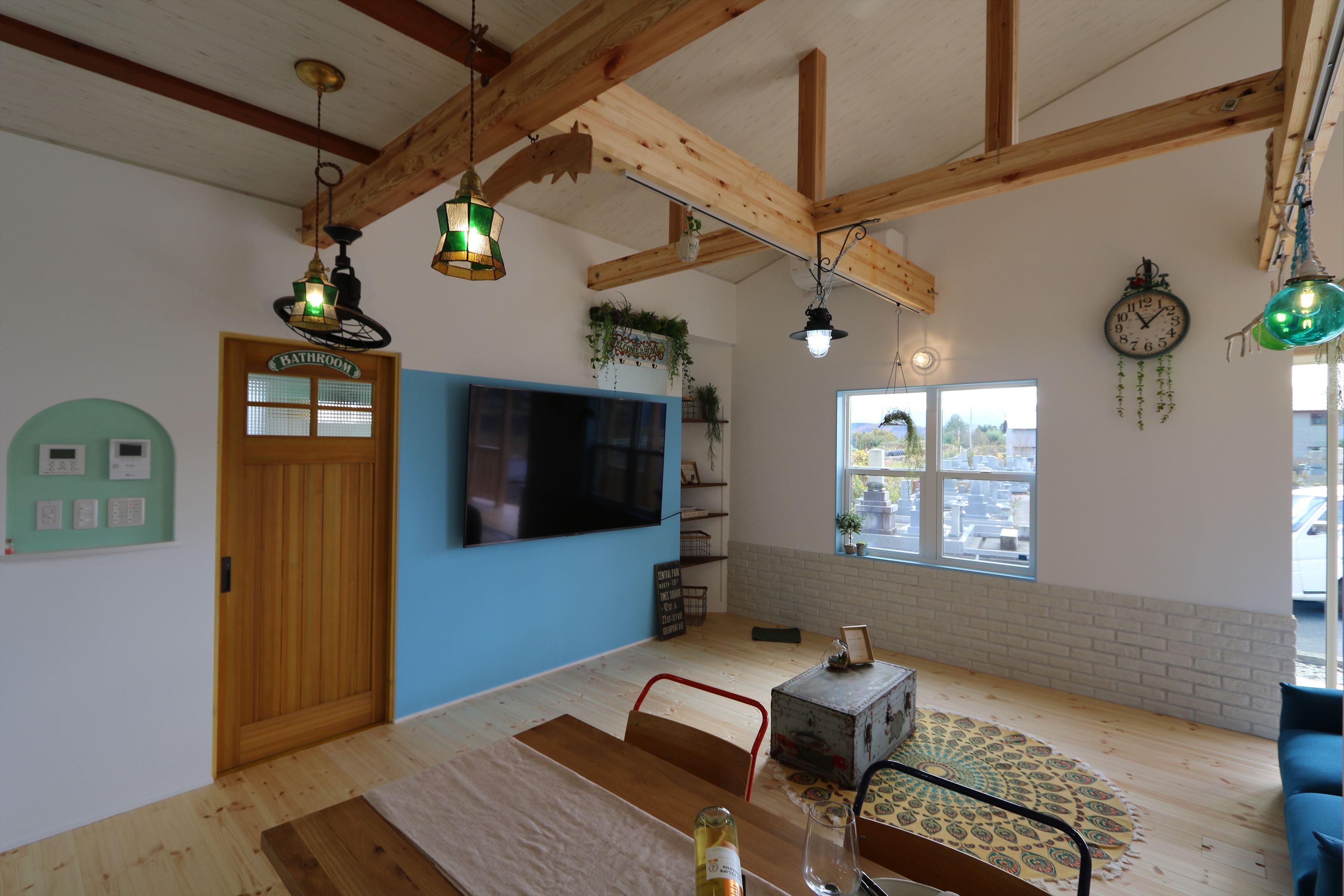 CALIFORNIA STYLE ★☆★平屋★☆★|石川県金沢市の注文住宅・デザイン性・新築の家・戸建て|E-HOUSE