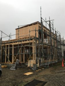 K様邸上棟|石川県金沢市の注文住宅・デザイン性・新築の家・戸建て|E-HOUSE