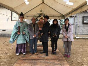 地鎮祭|石川県金沢市の注文住宅・デザイン性・新築の家・戸建て|E-HOUSE